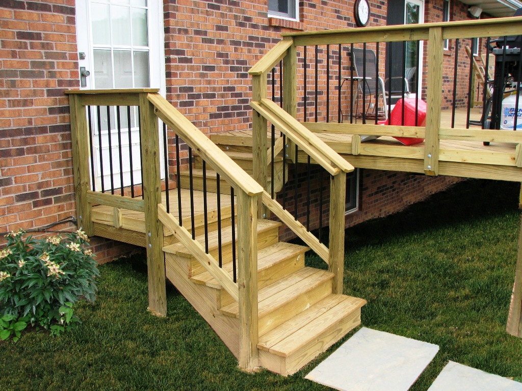 Wood decking pressure treated wood decking types for Which timber for decking
