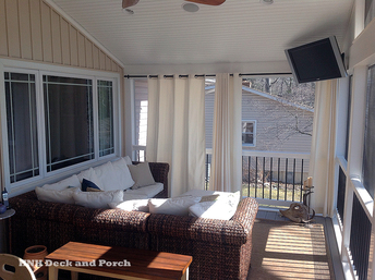 HNH Deck and Porch Screened Room
