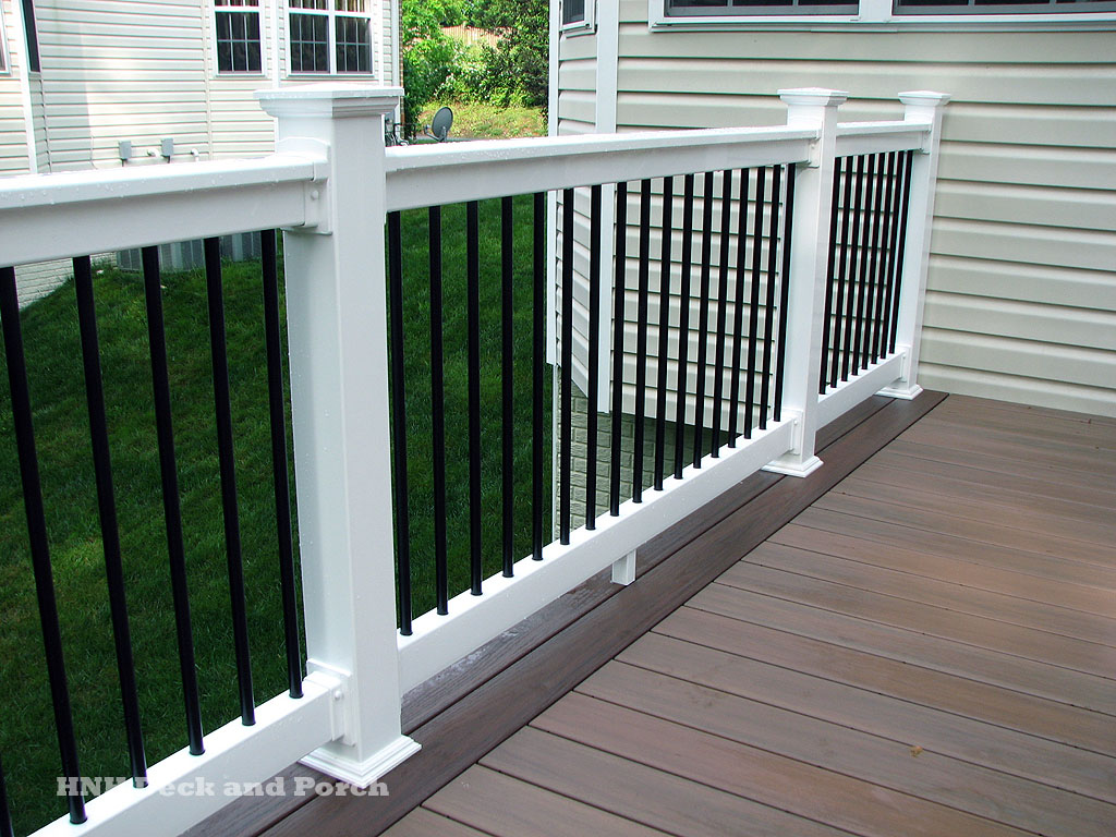 Deck railing gallery hnh deck and porch llc 443 324 5217 for Gallery porch