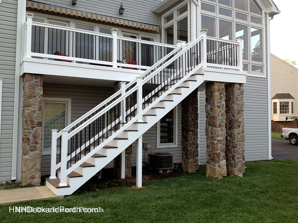 Deck Steps Gallery Hnh Deck And Porch Llc 443 324 5217