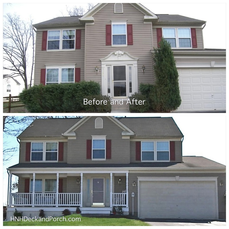 Before Amp After Gallery Hnh Deck And Porch Llc 443 324 5217