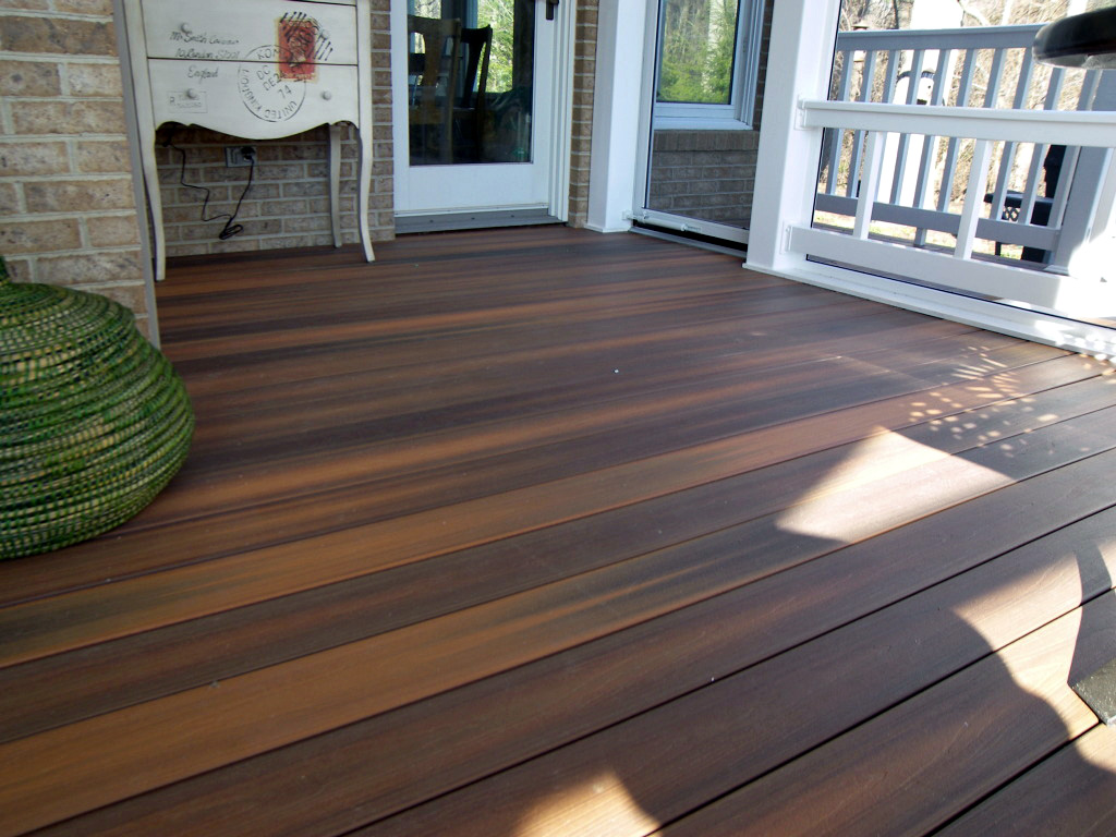 Deck flooring gallery hnh deck and porch llc 443 324 5217 Composite flooring for decks