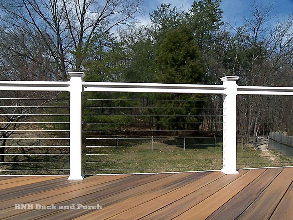 deck railing gallery hnh deck and porch llc 443 324 5217. Black Bedroom Furniture Sets. Home Design Ideas