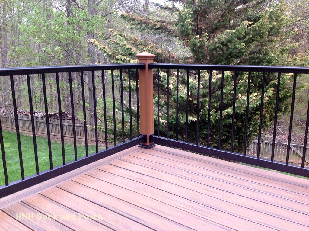 Deck Railing Gallery Hnh Deck And Porch Llc 443 324 5217