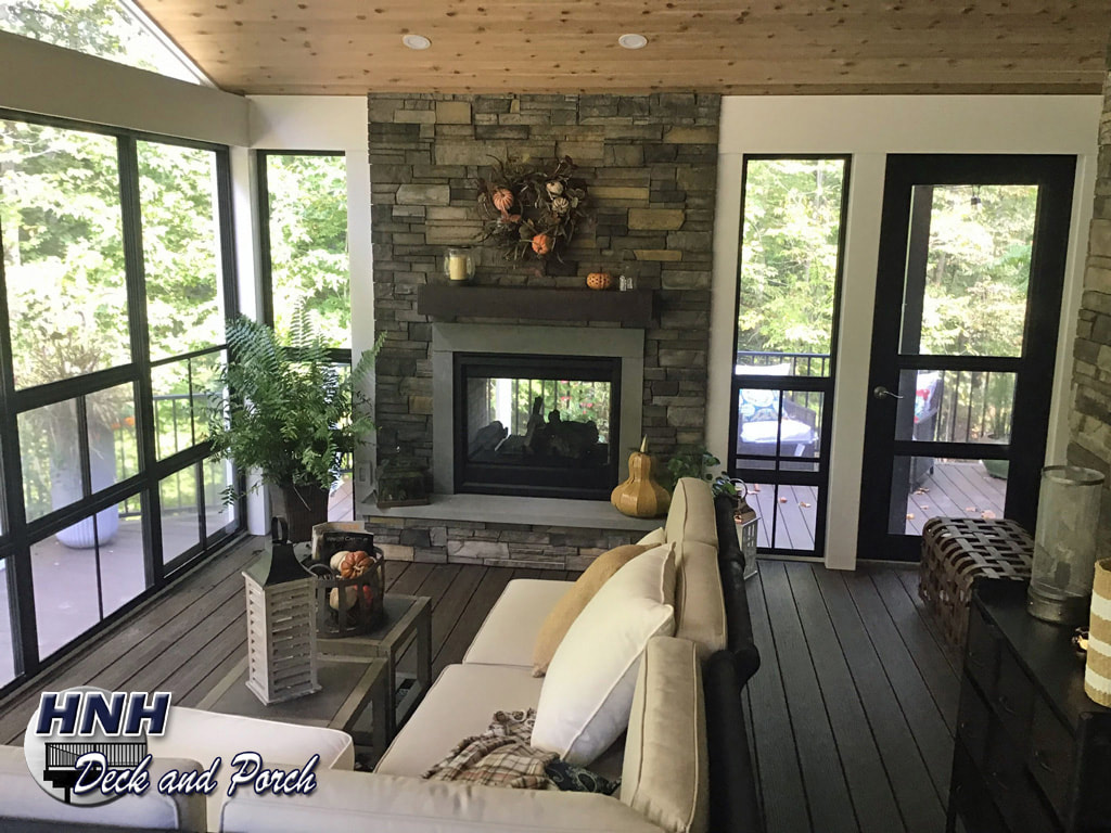 Porches Screened Room Gallery Hnh Deck And Porch Llc 443 324 5217