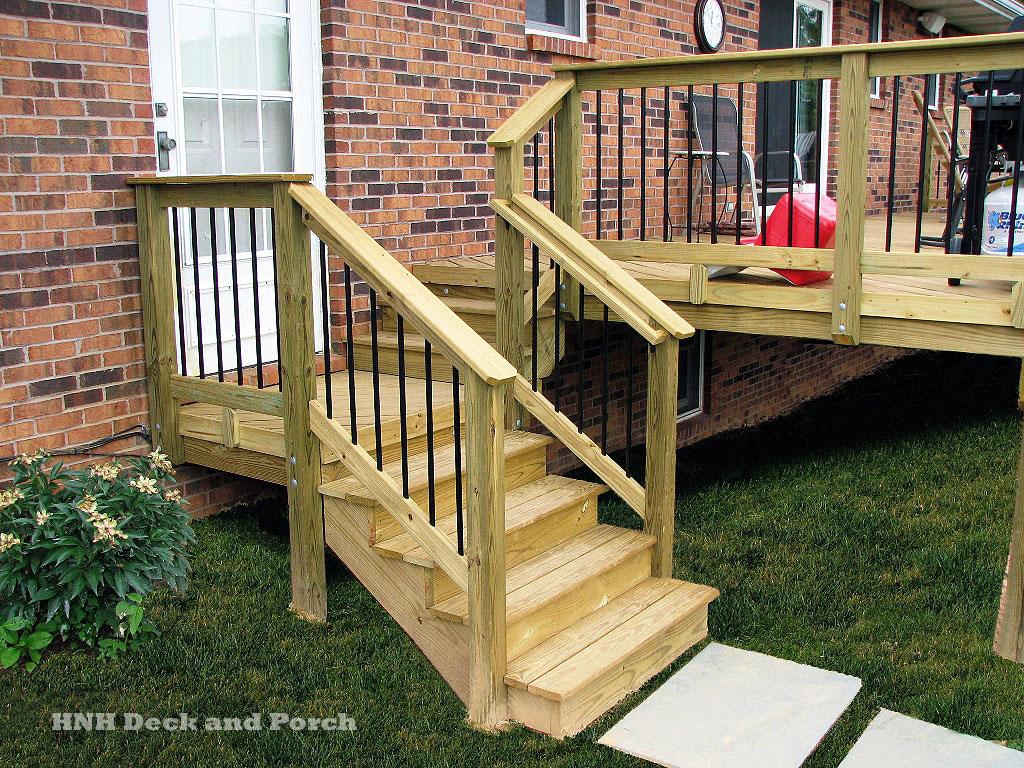 Deck Steps Gallery - HNH Deck and Porch, LLC 443-324-5217